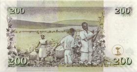 Kenia / Kenya P.49b 200 Shillings 2006 (1)