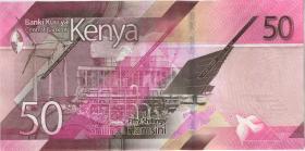 Kenia / Kenya P.neu 50 Shillings 2019 (1)