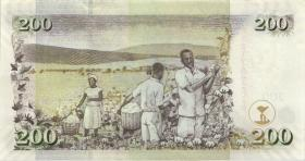 Kenia / Kenya P.49d 200 Shillings 2009 (1)