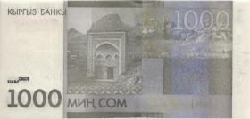 Kirgistan / Kyrgyzstan P.29b 1000 Som 2016 (1)