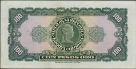 Kolumbien / Colombia P.403b 100 Pesos Oro 1964 (1)