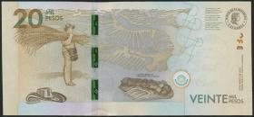 Kolumbien / Colombia P.neu 20000 Pesos 2015 (1)