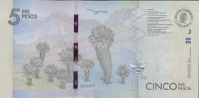 Kolumbien / Colombia P.459 5000 Pesos 2015 (1)