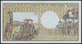 Kongo / Congo Volksrepublik P.06a 5000 Francs (1984) (1)