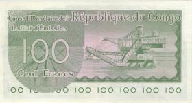 Kongo / Congo P.001 100 Francs 1.6.1963 (2)
