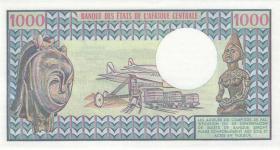 Kongo / Congo Volksrepublik P.03e 1000 Francs 1.1.1982 (1)