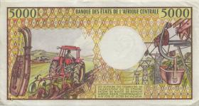 Kongo / Congo Volksrepublik P.06a 5000 Francs (1984) (2)