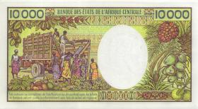 Kongo / Congo Volksrepublik P.07 10000 Francs (1983) (2+)