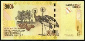 Kongo / Congo P.104c 20.000 Francs 2020 (1)
