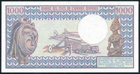 Gabun / Gabon P.03c 1000 Francs (1978) (2+)