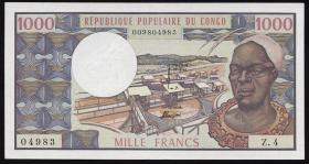 Kongo / Congo P.03a 1000 Francs (1974) (1)