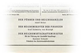 Konversionskasse für deutsche Auslandsschulden 50 Pfund Sterling