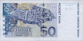 Kroatien / Croatia P.neu 50 Kuna 2012 (1)