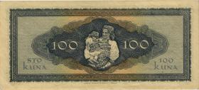 Kroatien / Croatia P.11 100 Kuna 1943 (1/1-)
