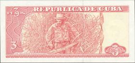 Kuba / Cuba P.127b 3 Pesos 2005 Che Guevara (1)
