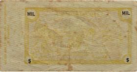 Kuba / Cuba P.G09 1000 Dollar (1953) Guerilla-Banknote (3)