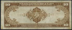 Kuba / Cuba P.071d 10 Pesos 1938 (3)