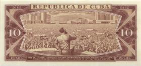 Kuba / Cuba P.104a 10 Pesos 1968 (1)