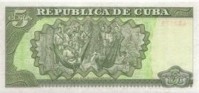 Kuba / Cuba P.116c 5 Pesos 2000 (1)