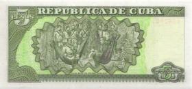 Kuba / Cuba P.116d 5 Pesos 2001 (1)