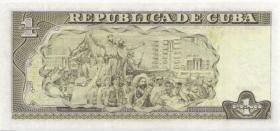 Kuba / Cuba P.121e 1 Peso 2005 (1)