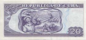 Kuba / Cuba P.122i 20 Pesos 2014 (1)