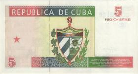 Kuba / Cuba P.FX39 5 Pesos 1994 Konvertierbare Note (1)