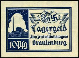 KZ Oranienburg 10 Pfennig (1933) Lagergeld (1)