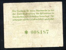 KZ Arbeitslager Mittelbau 1 RM (3-)