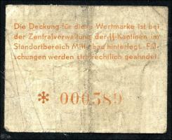 KZ Arbeitslager Mittelbau 0,25 RM (4)