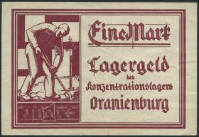 KZ Oranienburg 1 Reichsmark Lagergeld (1933) (2)