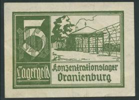 KZ Oranienburg 5 Pfennig (1933) Lagergeld (2)