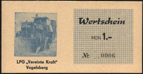 "L.145.1/8 LPG Vogelsberg/Sprötau ""Vereinte Kraft"" 0,10 MDN - 100 MDN Satz (1)"