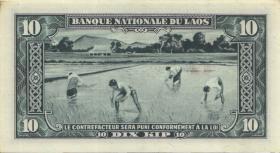 Laos P.03b 10 Kip (1957) (1)