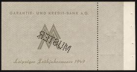 Leipziger Messe Scheck 1 Valuta Mark 1949 (1)