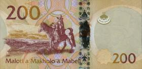 Lesotho P.neu 200 Maloti 2015 (1)