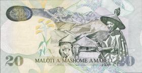 Lesotho P.16g 20 Maloti 2009 (1)