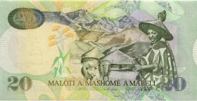 Lesotho P.16c 20 Maloti 2001 (1)