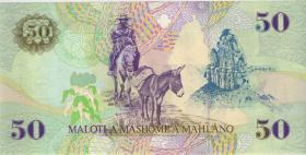 Lesotho P.17br 50 Maloti 1997 X (1)