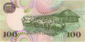 Lesotho P.19a 100 Maloti 1999 (1)