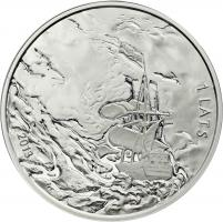 Lettland 1 Lats 2013 Richard Wagner