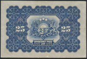 Lettland / Latvia P.18 25 Latu 1928 (3)