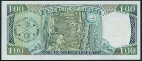 Liberia P.25 100 Dollars 1999 (1)