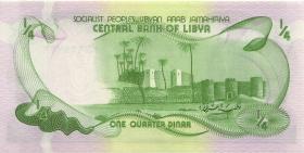 Libyen / Libya P.42Ab 1/4 Dinar (1981) (1)