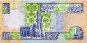 Libyen / Libya P.64a 1 Dinar (2002) (1)