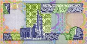 Libyen / Libya P.64b 1 Dinar (2002) (1)