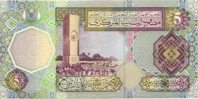 Libyen / Libya P.65a 5 Dinars (2002) (1)