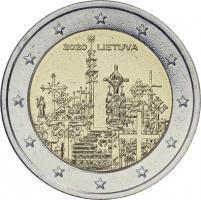 Litauen 2 Euro 2020 Berg der Kreuze Coincard