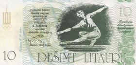 Litauen / Lithuania 10 Cent. - 50 Litaura 1991 (1)