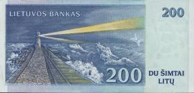 Litauen / Lithuania P.63 200 Litu 1997 (1) low number